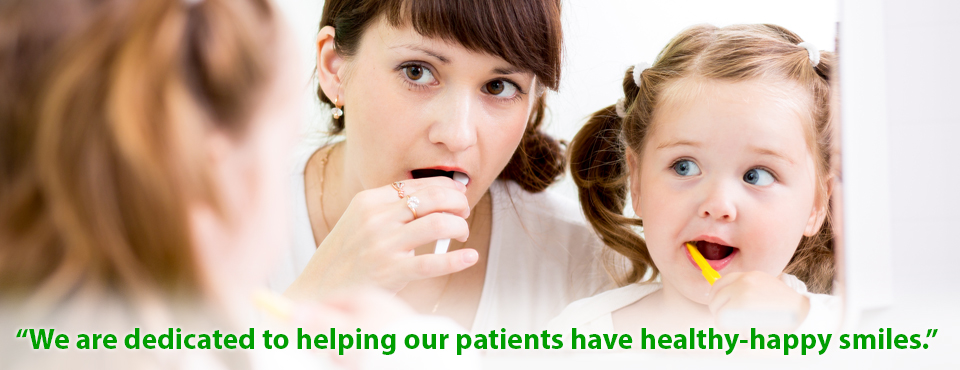 We are dedicated to helping our patients have healthy happy smiles.
